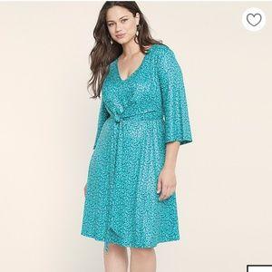 Eloquii Tie Front Dress